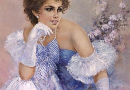 Art - romantic, impressionist, italian, painter