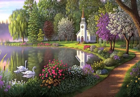 Secret Garden Other Nature Background Wallpapers on