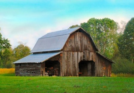 An Old Barn - farm photos, old southern things, barns