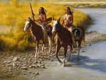 NATIVE AMERICAN.FOLLOWING THE RIVER