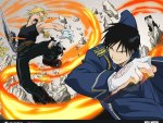 Edward vs Roy Mustang