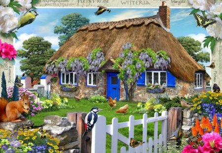 wisteria cottage houses amp architecture background