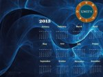 unity calender 2013
