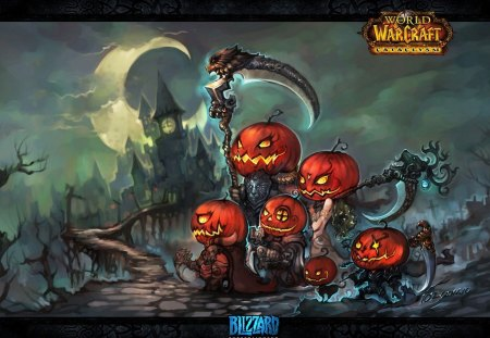 warcraft halloween special - Halloween Background Video