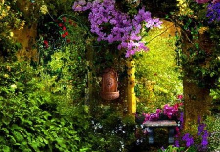 secret garden - Other & Nature Background Wallpapers on ...