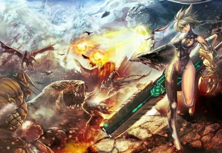 War of gods other anime background wallpapers on - Anime war wallpaper ...