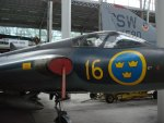 swedish jet fighter