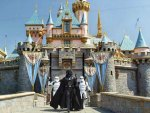 darth vadar at disneyland
