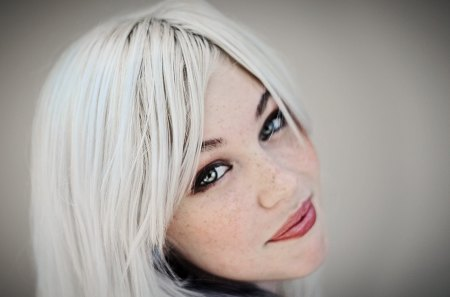 Devon Jade - eyes, white, hair, devon jade, lips