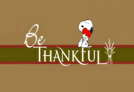 Happy Thanksgiving - dogs, animals, charlie brown, peanuts, thanksgiving, fall, snoopy