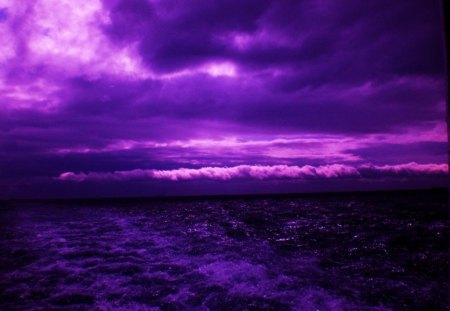 Purple Skies over Wisconsin - He had never seen the sky like this before  1238096-bigthumbnail