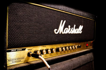 Marshall Amp - amp, music, entertainment, marshall