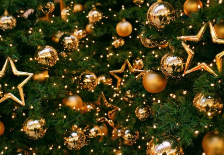 Gold Christmas star *** - Photography & Abstract Background ...