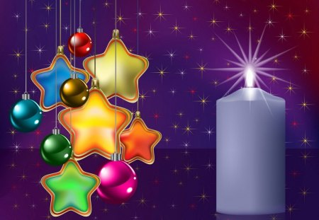 Christmas clipart 3d and cg abstract background - Purple christmas desktop wallpaper ...