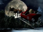 Santa and his Sleigh
