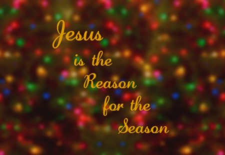 Jesus is the Reason for the Season I - 3D and CG & Abstract ...