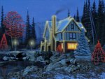 3D Christmas Cottage
