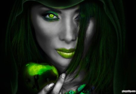 Image result for green witch