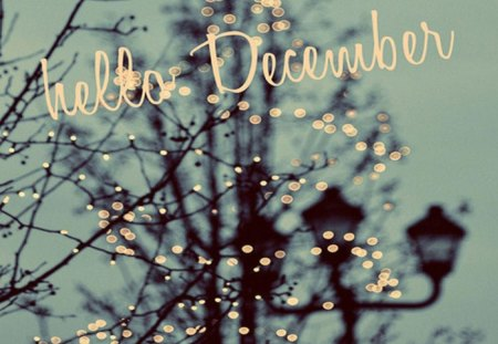 Hello December - Photography & Abstract Background ...