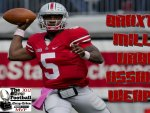 BRAXTON MILLER WINNER OF THE 2012 SILVER FOOTBALL B1G MVP