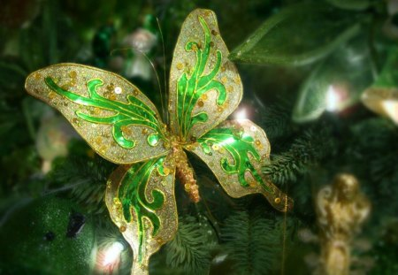 butterfly christmas tree butterfly ornament for my lovely friend cherie monarch 1389