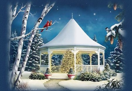 Winter Wonderland for Christmas - Fantasy & Abstract Background ...