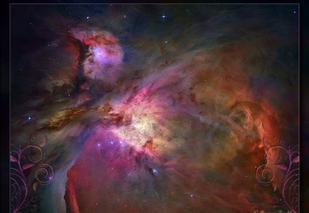 Orion Nebula - space, nebulae, orion, nebula, universe
