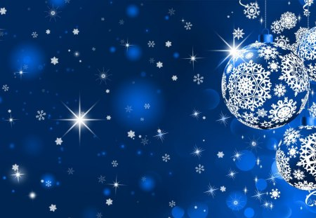 Desire a Blue Christmas - Winter & Nature Background Wallpapers on ...