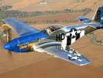 classic p51 mustang