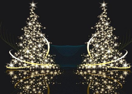 gold christmas tree wallpaper - photo #19