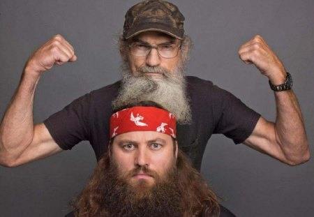 Uncle Si and Willy - duck dynasty, si, willy, tv series, entertainment