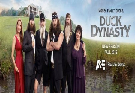 Duck Dynasty - duck dynasty, tv series, robertson family, entertainment