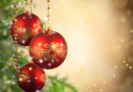 Christmas Balls - Photography & Abstract Background Wallpapers on ...