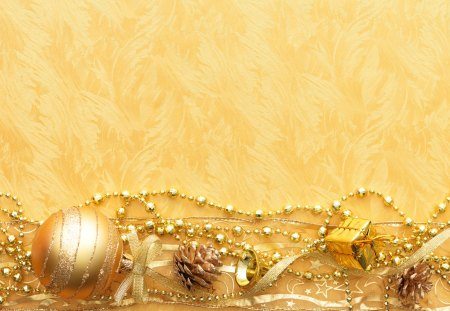 Gold Christmas decoration *** - Photography & Abstract Background ...