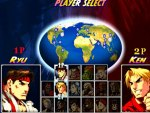 Street Fighter Turbo 2 HD Remix: Character Select