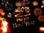 Kanchan Bagari Happy New Year Wallpaper