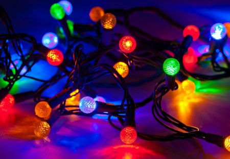 Magic Christmas Lights - Winter & Nature Background Wallpapers on ...