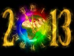 World celebrates new 2013 year