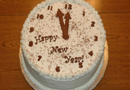 New Year Chocolate Cake Images : Happy New Year - Other & Abstract Background Wallpapers on ...