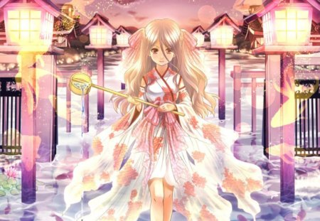 Gold fish princess other anime background wallpapers for Pretty princess wallpaper