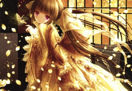 Golden Tinkle - Other & Anime Background Wallpapers on ...