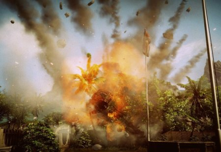 download wallpaper debris explosion - photo #10