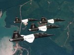 USAF T-38 Talon Trainers in Four