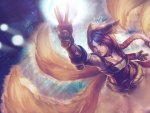 Ahri fox fire