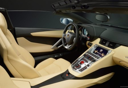 Inside View - lamborghini, view, inside, car