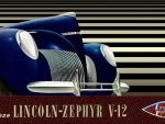 1939 Lincoln Zephyr V-12 cover