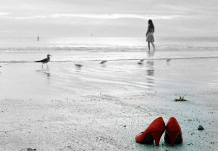 Red shoes - Photography & Abstract Background Wallpapers on ...