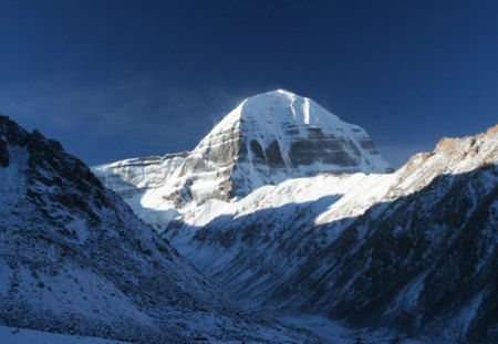 Mount Kailash (Sacred Mountain) ( Center of Universe) ( Spiritual Center of the world) - kailash, meru, shiva, kalash, hindu, mount kailash, jainism, spiritual, india, holy, sacred, relegion, buddhism, hinduism