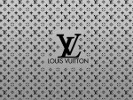 Louis Vuitton Brushed On Metal