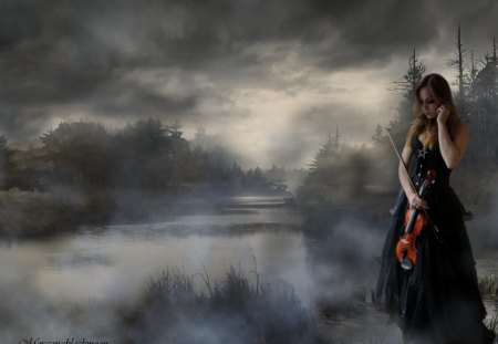 Gothic Melody - Fantasy & Abstract Background Wallpapers ...  Gothic Melody -...